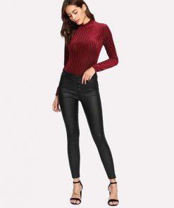 Pantalones Cuero Sintetico Mujer Johana Manchola Boutique