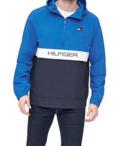 chaqueta hilfiger azul hombre