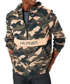 chaqueta hilfiger militar hombre