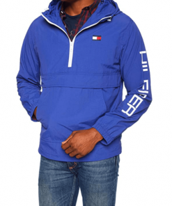 chaqueta hilfiger azul rey hombre