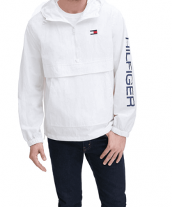 chaqueta hilfiger blanco hombre
