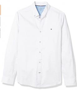 camisa tommy hilfiger blanca