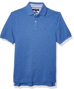 camiseta polo tommy hilfiger manga corta azul