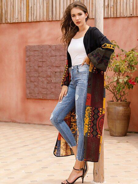 kimono outfit mujer