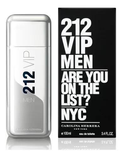 PERFUME 212 VIP MEN CAROLINA HERRRERA HOMBRE