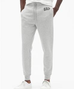 pantalon hombre jogger gap blanco