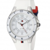 RELOJ TOMMY MUJER SILICONA PULSO BLANCO 34MM