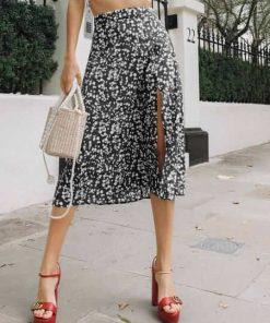 falda negra larga bogota
