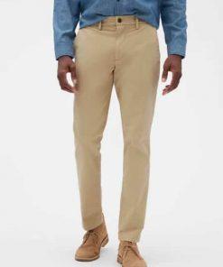 pantalon beige gap hombre