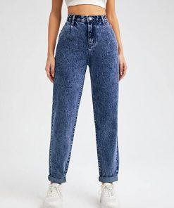 jean cintura alta azul