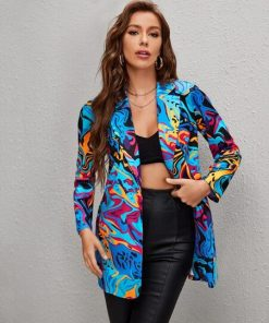 chaqueta colorida