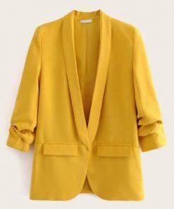 blazer elegante mujer