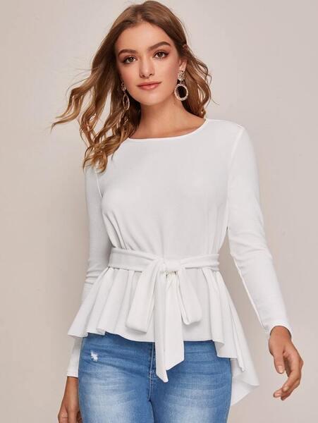 blusa elegante mujer